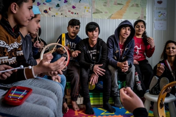 Less than 15% of children seeking asylum on the Greek Islands received an education in 2017