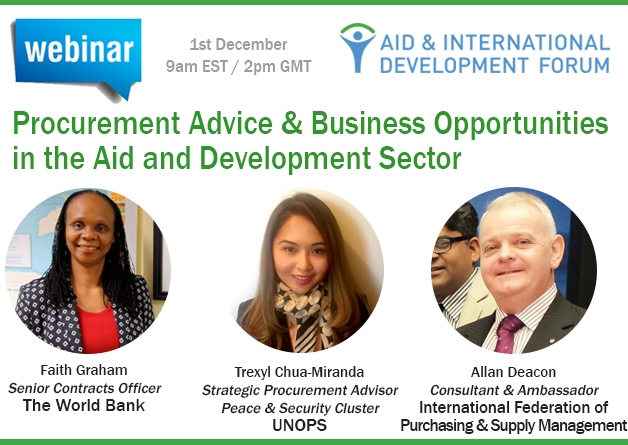 Procurement Advice & Business Opportunities in the Aid and Development Sector