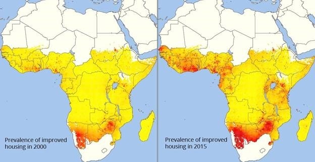 Housing in Sub Saharan Africa has doubled in quality since 2000, new report finds